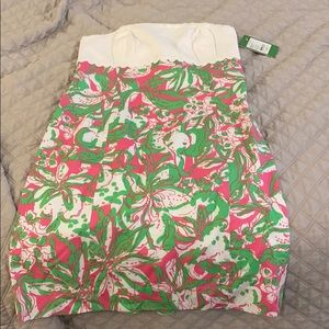 Lilly strapless dress